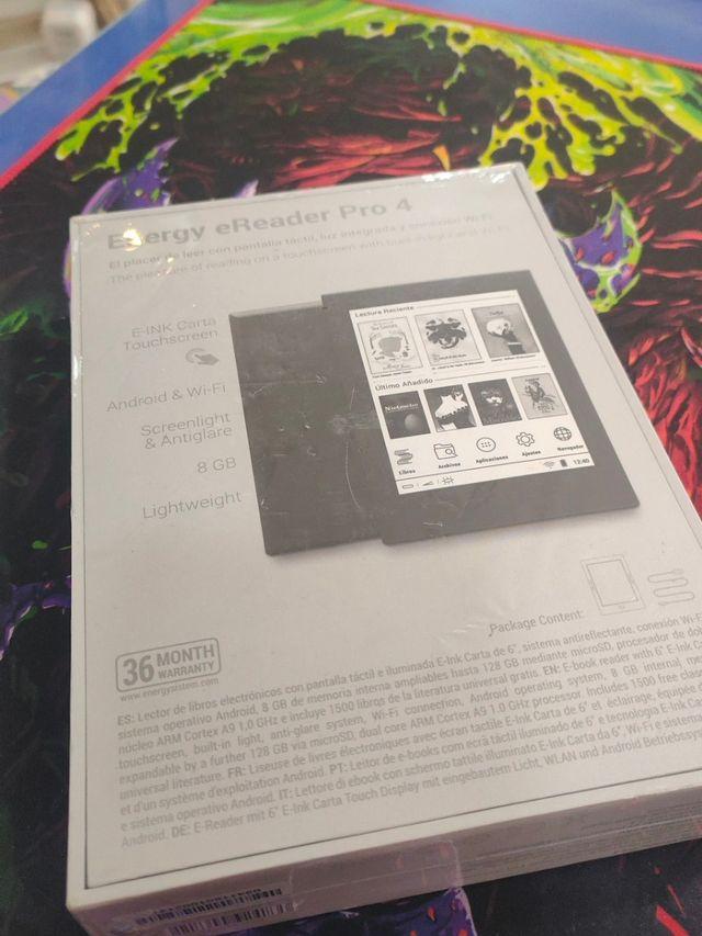 Libro electronico Pro 4 totalmente precintado.