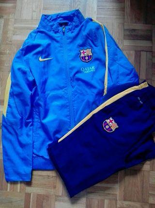 Chandal nike niño futbol club Barcelona