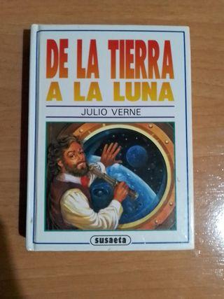 De la tierra a la luna, libro