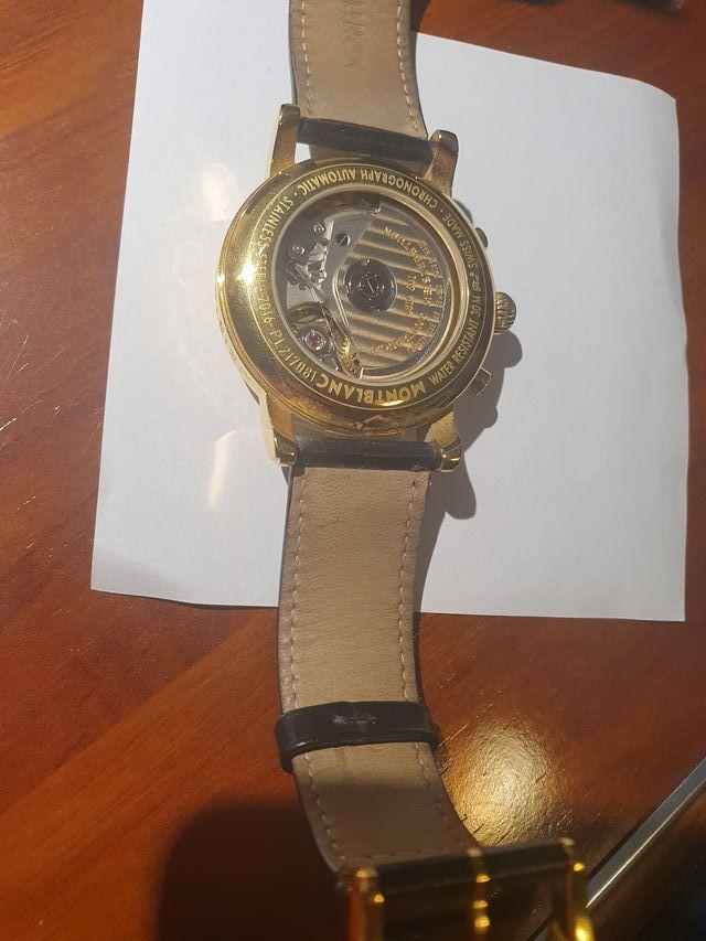 Reloj Montblanc de oro