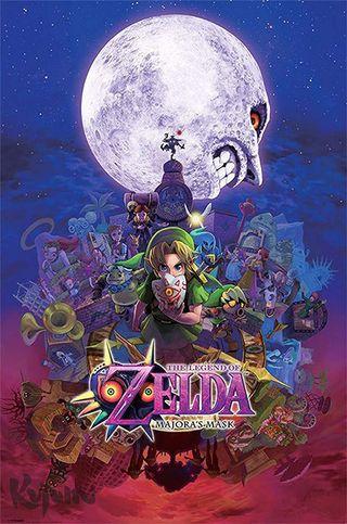 Póster The Legend of Zelda: Majora'S Mask