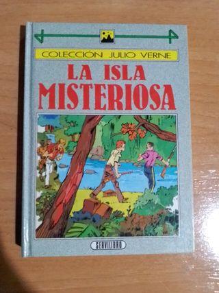 La isla misteriosa, libro
