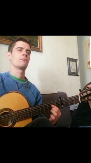 Clases de guitarra flamenca Skipe/ aire libre