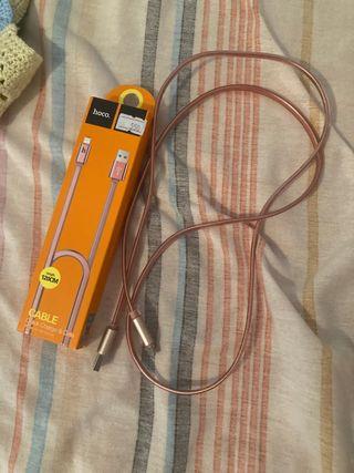 Cable hoco original (para iPhone)