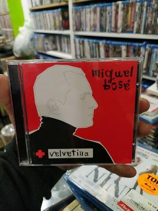 CD MIGUEL BOSÉ VELVETINA