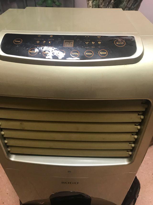 Aire frio/ Acc/Ventilador