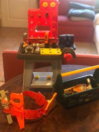 Mesa bricolaje juguete