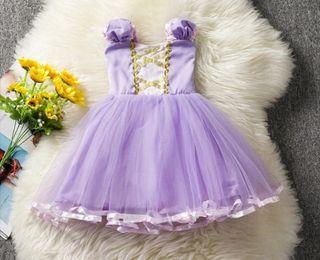 disfraz niña bebé nuevo princesa 18/24/36 MESES