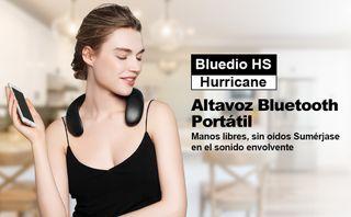 Altavoz Bluetooth anátomico de cuello Bluedio