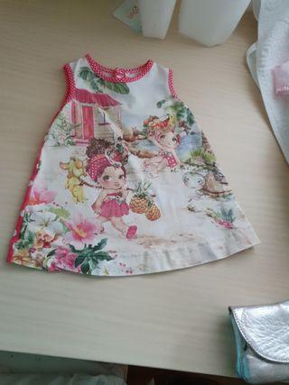 Vestido Mayoral niña 6 meses