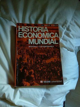 Historia Económica Mundial. Moderna y Contemporáne