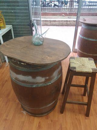 4 barriles