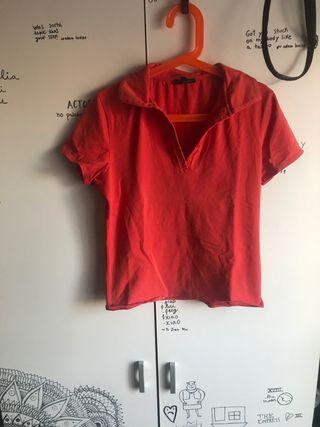 Camisa tipo polo massimo dutti
