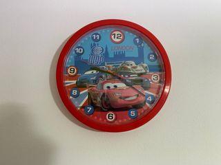 Reloj Y Cuadro Cars