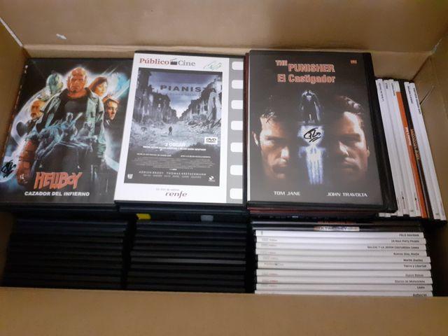 Lote de Películas en Formato DVD