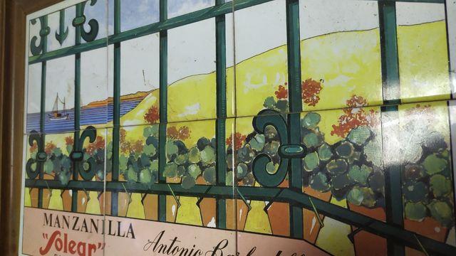 Cartel azulejos Solear