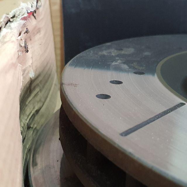 discos de dreno del tras con pastilllas 350z