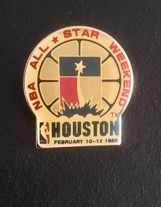 Pin 39º All Star Game Nba Houston 1989 baloncesto