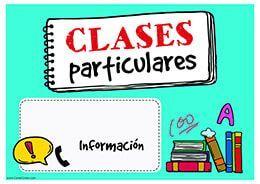 Clases particulares primaria-bachillerato