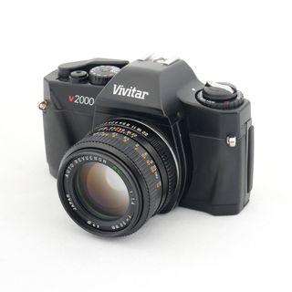 Vivitar V200 + 50mm f 1.4