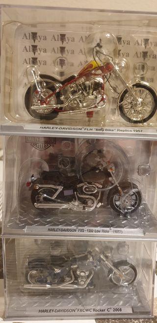 Reproducciones Harley-Davidson a escala 1/24