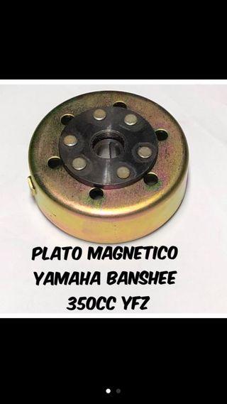 Plato magnetico yamaha banshee 350cc