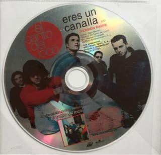 CD Single El Canto del Loco. Eres un canalla