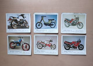 Cromos col·lecció Motos