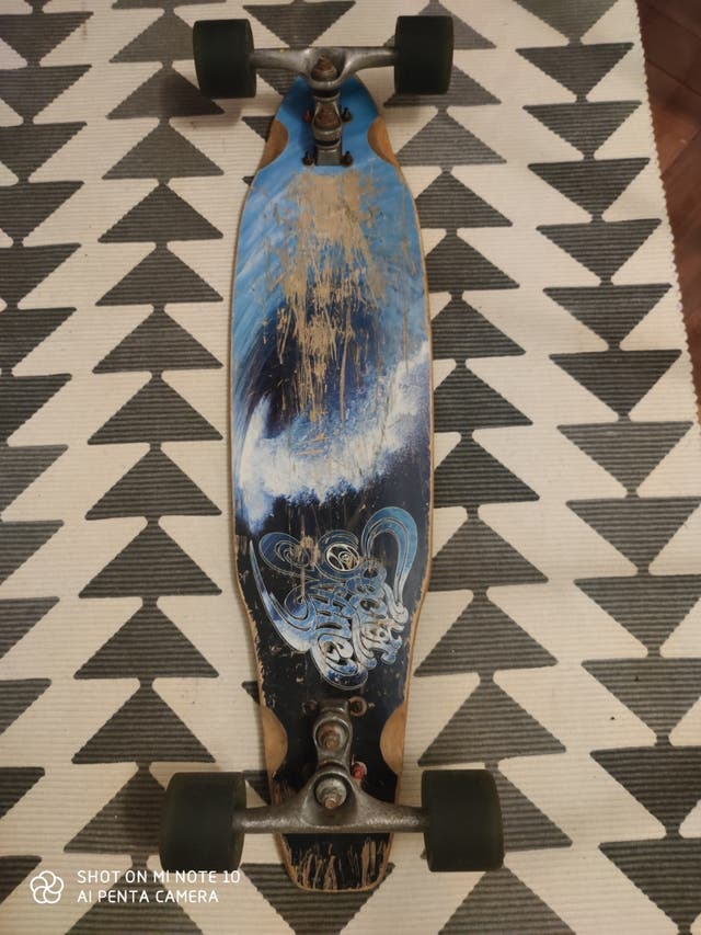 longboard, skate, monopatín