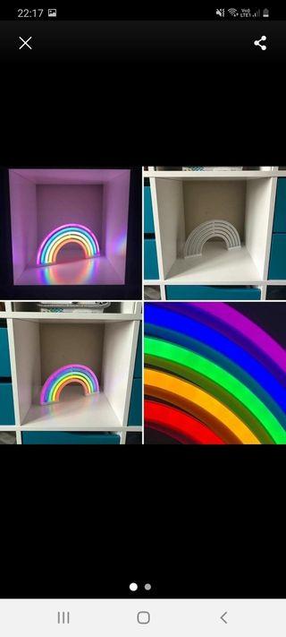 Rainbow Neon Tube Light