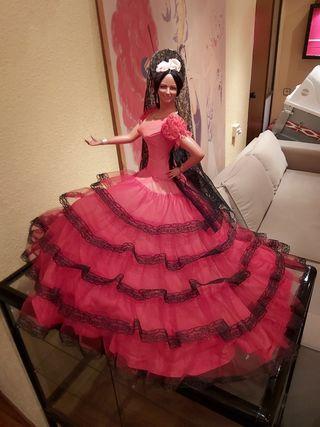 Muñeca Flamenca Gitana Andaluza Marin chiclana