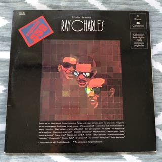RAY CHARLES - 25 Años de Éxitos (Doble Vinilo)