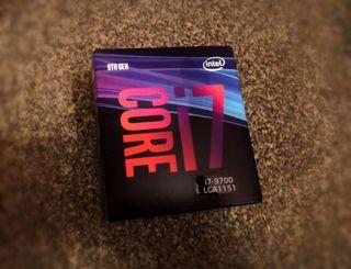 Intel I7 9700 9th CPU Processor