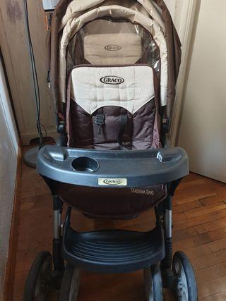 Carro de bebé Doble / Gemelar marca Graco