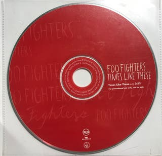 CD Single Foo Fighters. Times like these