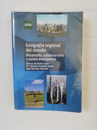 libro geografía regional del mundo