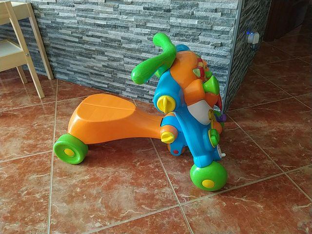 Correpasillos convertible en moto
