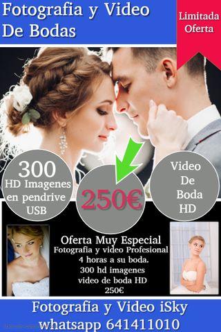 fotografia y video de bodas especial y economico
