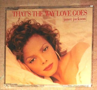 Janet Jackson CD single That's the way love goes