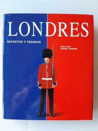 LONDRES SECRETOS Y TESOROS LIBRO GUÍA