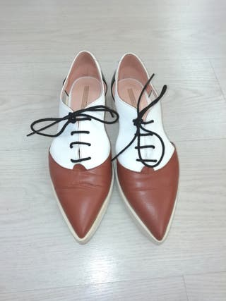zapatos Hannibal Laguna talla 38, modelo Fabiela