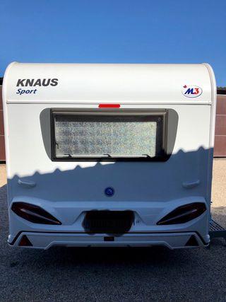 Caravana Knaus 450 silver sport 2 ambientes