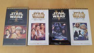 Colección VHS StarWars