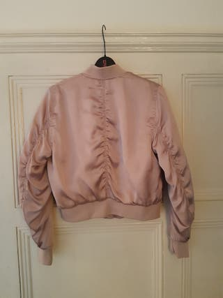 Gorgeous Silky Bomber Jacket