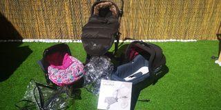 Lote Bebé Trio Concord neo con accesorios