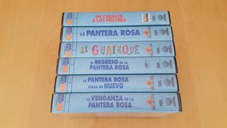 Colección VHS Peter Sellers