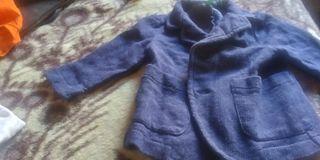 chaqueta de niño de 1 a 2 años