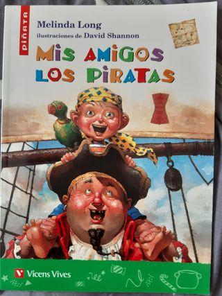 Mis amigos los piratas de Melinda Long