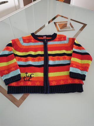 chaqueta lana tuc tuc 3años