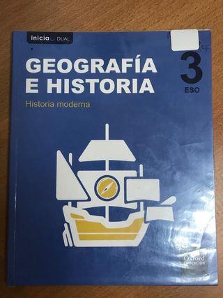 Geografía e historia : historia moderna